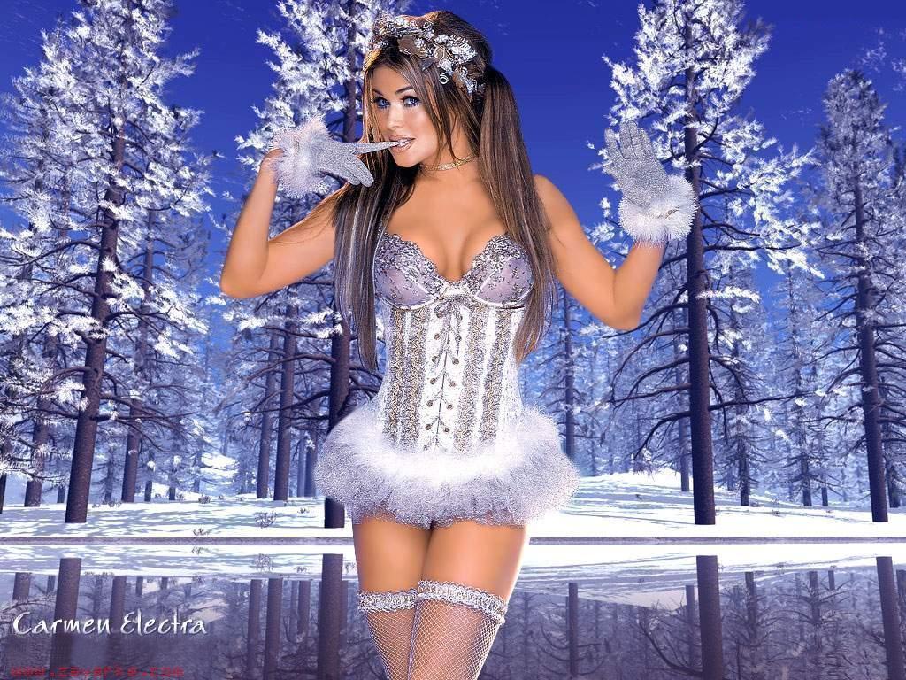 Сексуальная снегурочка фото 5 фотография